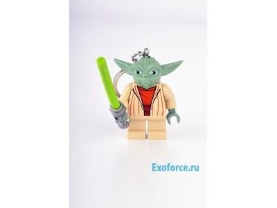 LEGO 122 - Брелок-фонарик Star Wars - Yoda