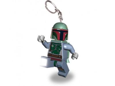 LEGO 19 - Брелок-фонарик  Lego Звездные Войны Боба Фетт