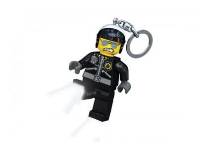 LEGO 46 - Брелок-фонарик Lego Movie Bad Cop