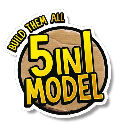 пять моделей лего буст в комплекте