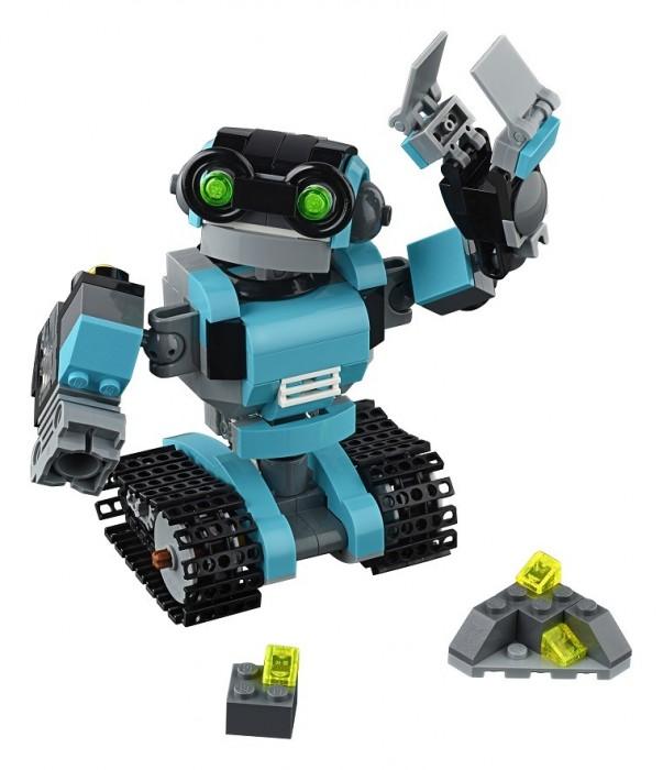 Купить лего робот исследователь