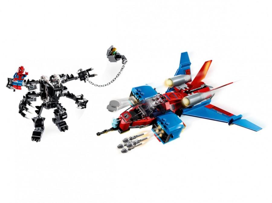 LEGO 76150 Jet Спайдермена против Венома купить Super Heroes