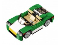 Зелёный кабриолет