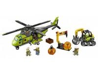 Транспортный вертолет исследователей вулканов