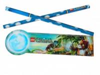 Карандаши и линейка LEGO Chima