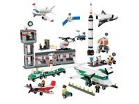 Космос и аэропорт. LEGO